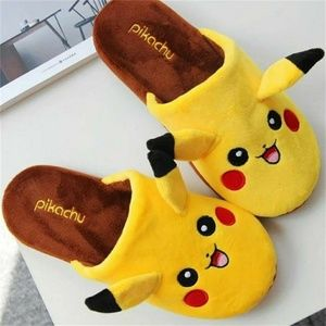 Shoes - Pikachu slippers